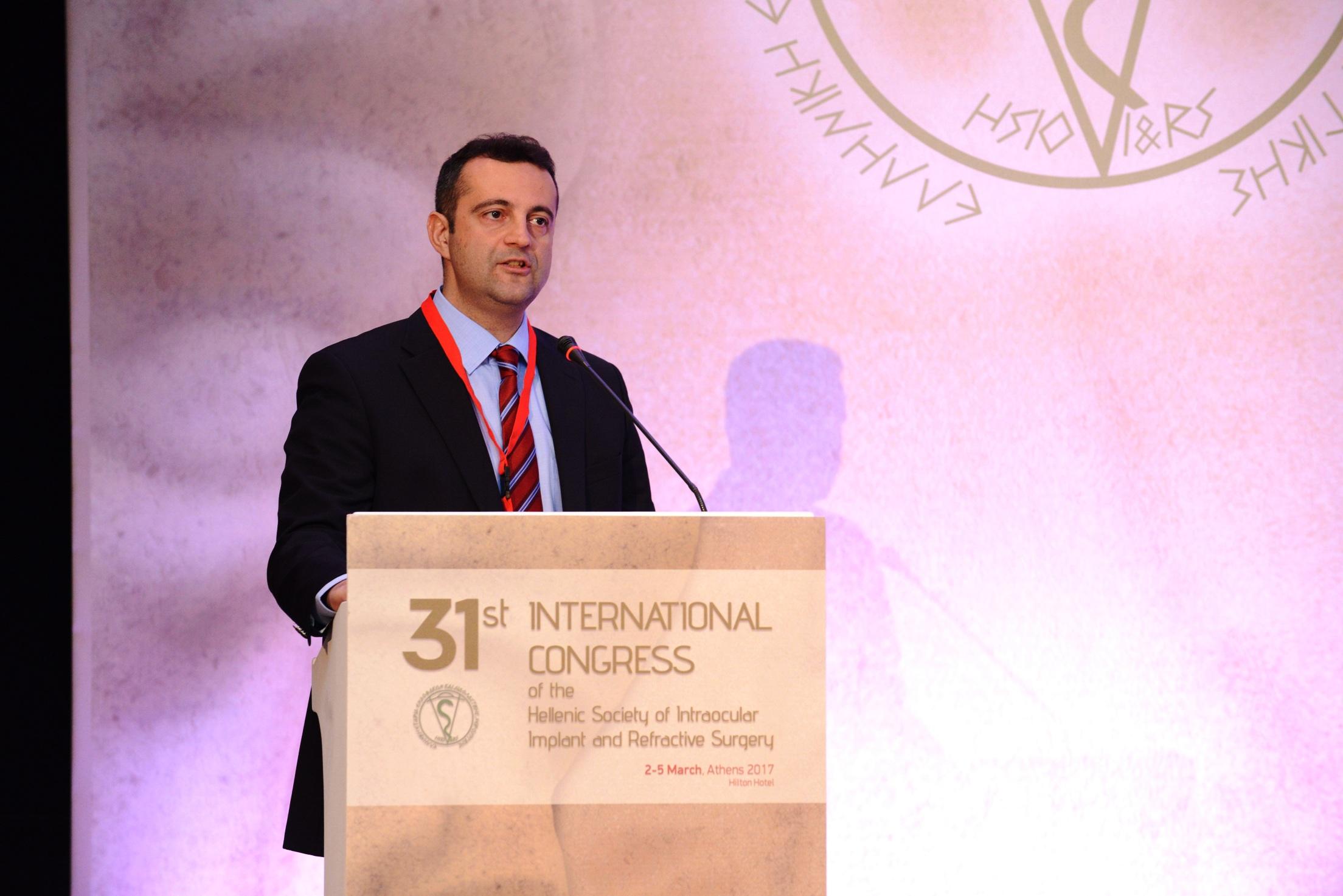 31o Διεθνές Συνέδριο της Ελληνικής Εταιρείας Ενδοφακών και Διαθλαστικής Χειρουργικής 31o Διεθνές Συνέδριο της Ελληνικής Εταιρείας Ενδοφακών και Διαθλαστικής Χειρουργικής